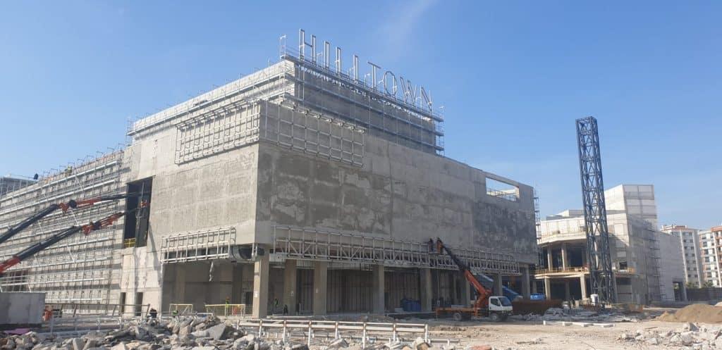 İzmir Hilltown AVM Çelik Konstrüksiyon